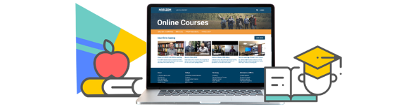 Horizon college online course video library